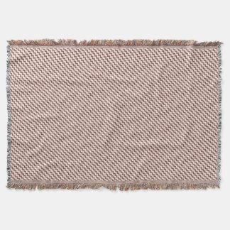 Chevron pattern natural warm brown and pale pink