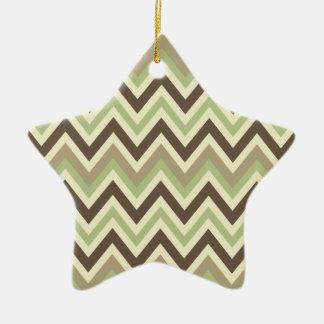 Chevron Pattern ornament
