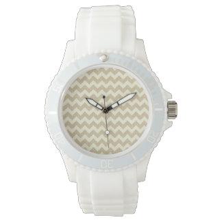 Chevron Pattern Watch