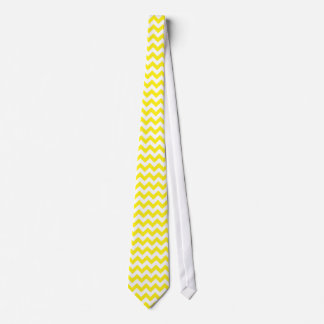 Chevron Pattern | Yellow Tie