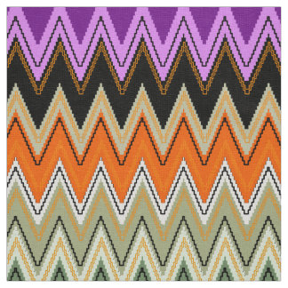 Chevron pattern, Zigzag Fabric cute