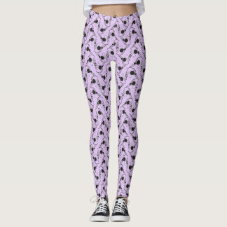 Chevron Polka Dot Design Leggings