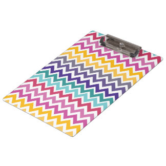 Chevron Polka Dot Teacher Gift Clipboard