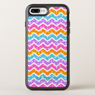 Chevron Polka Dots OtterBox Symmetry iPhone 8 Plus/7 Plus Case