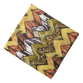 Chevron Safari Bandana