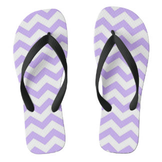 chevron stripes flip flops