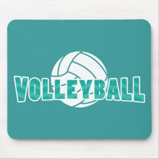 Chevron Volleyball Mouse Mat