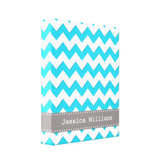 Chevron Wall Art Gallery Wrapped Canvas