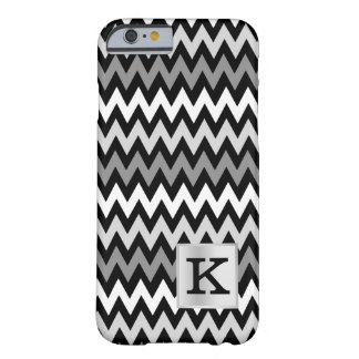 Chevron Zig Zag Monogram with Color Choice Barely There iPhone 6 Case
