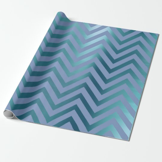 Chevron Zig Zag Navy Aqua Teal Blue Stripes