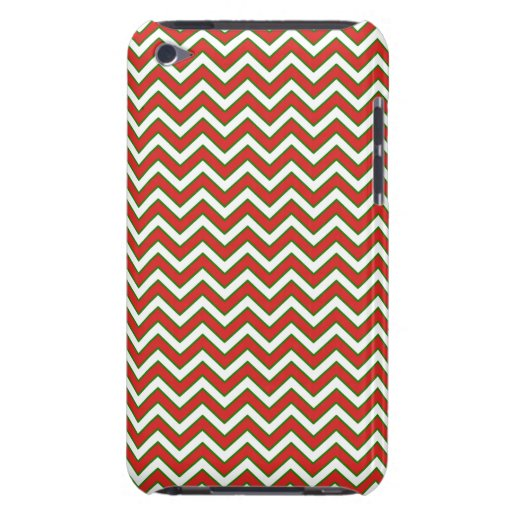 Chevron Zig Zag Pattern in Festive Colors iPod Touch Covers