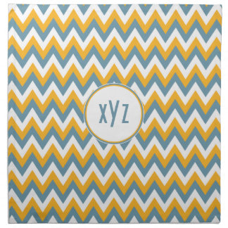 Chevron / Zigzag Pattern custom cloth napkins
