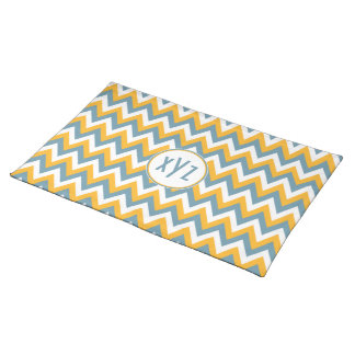 Chevron / Zigzag Pattern custom placemats