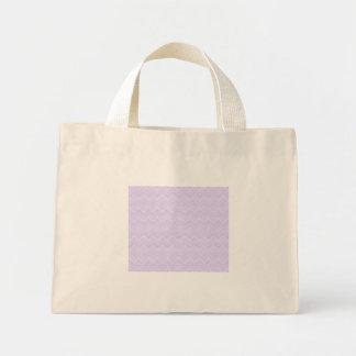chevron zigzag pattern light lilac bags
