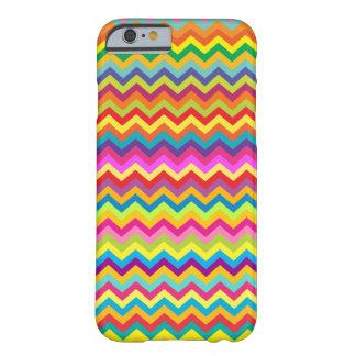 Chevron zigzag pattern multi-colored iPhone 6 case