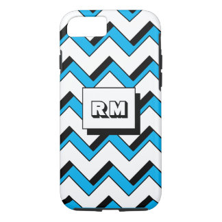 Chevron Zigzag Shadow Monogram iPhone 7 Case