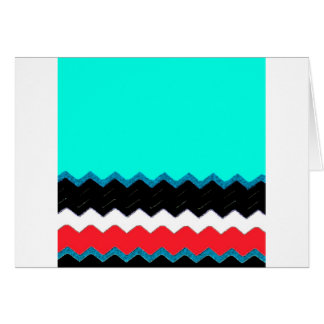 Chevrons Pattern Office Party Shower Peace Destiny Cards