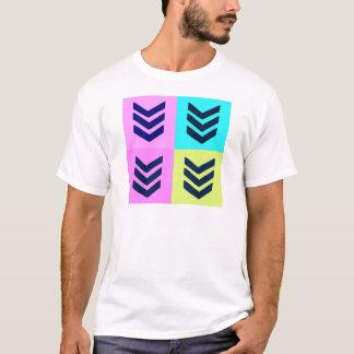 Chevrons Pop Art T-Shirt