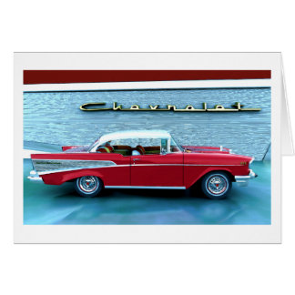 Chevy 1957 card
