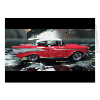 Chevy 1957 greeting card