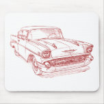 Chevy 1957 mouse mat