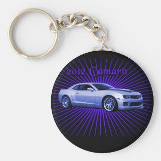 Chevy: 2012 Camaro Basic Round Button Key Ring