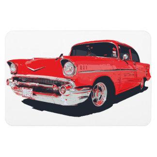 Chevy Bel Air vector illustration Vinyl Magnets