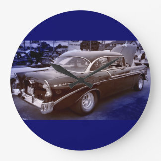 Chevy Belair Large Clock