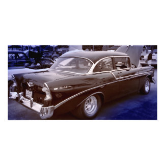 Chevy Belair Photo Card Template