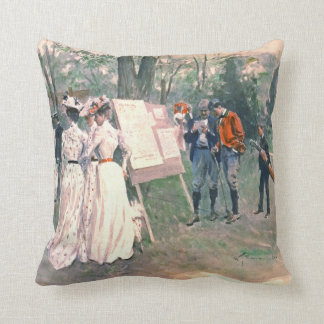 Chevy Chase Golf Tournament 1902 Pillows