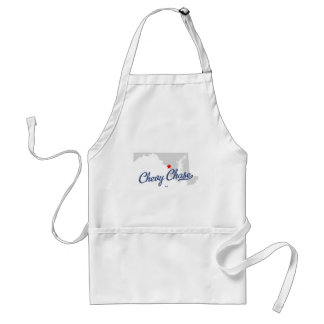Chevy Chase Maryland MD Shirt Adult Apron