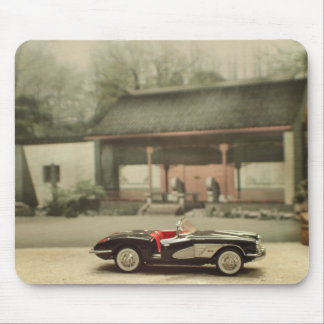 Chevy Corvette Convertible 1958 Mousepad