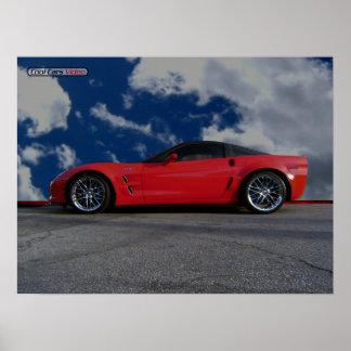 Chevy Corvette ZR1 Poster
