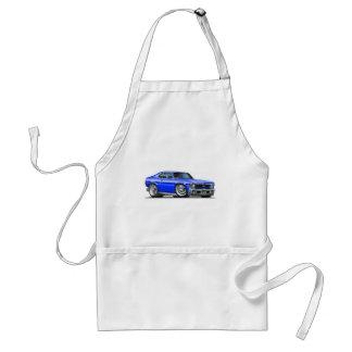 Chevy Nova Blue Car Standard Apron