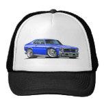 Chevy Nova Blue Car Trucker Hat