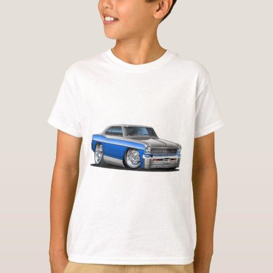 Chevy Nova Blue-Grey Car T-Shirt