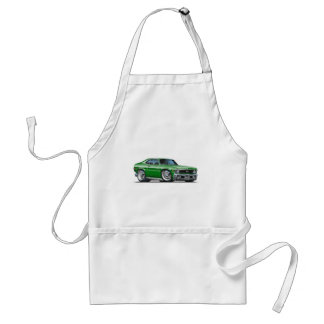 Chevy Nova Green Car Standard Apron