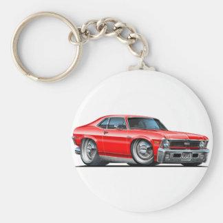 Chevy Nova Red Car Key Ring