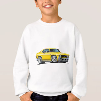 Chevy Nova Yellow Car Sweatshirt