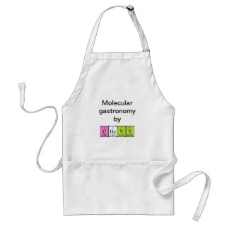 Chevy periodic table name apron