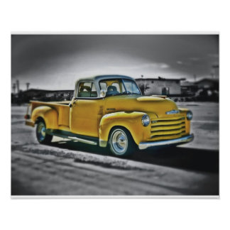 Chevy pick UP Poster