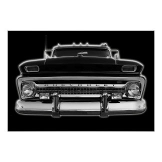 Chevy Pick Up Truck Poster
