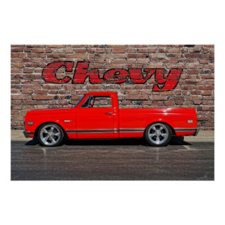 Chevy Pickup Poster