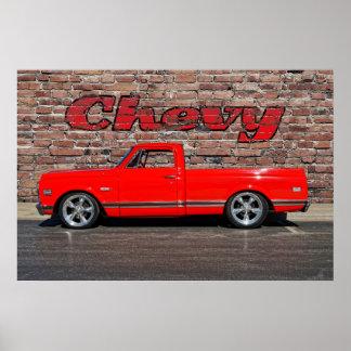 Chevy Pickup Print