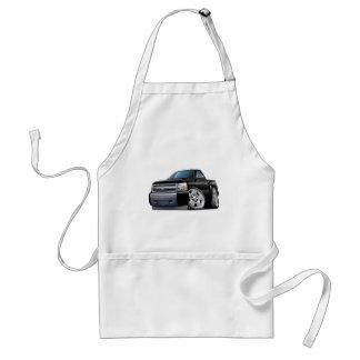 Chevy Silverado Black Truck Standard Apron