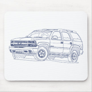 Chevy Tahoe 2000-2006 Mouse Pad