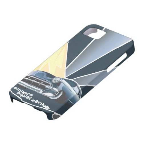 Chevy Tail Dragger Iphone cover iPhone 5 Cases