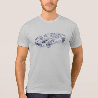 Chevy Vette 2014 Stingray C7 Tshirt