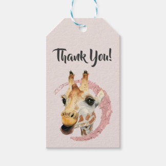 """""""Chew"""" 3 Thank You Gift Tags"""