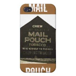 Chew Mail Pouch Tobacco - Antique Photo Finish iPhone 4 Cover
